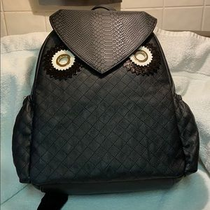 NWT Betsey Johnson Backpack Owl Always Love You
